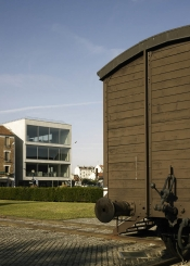 Le site de l'ancien camp de Drancy et l'exposition permanente du Mémorial