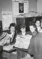 La vie artistique sous l'Occupation : lecture, musique