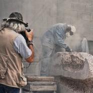 Projection - La Chair et le Granit de Anna Recalde Miranda - Yom HaShoah