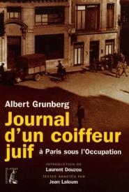 Journal d'un coiffeur juif, à Paris, sous l'Occupation