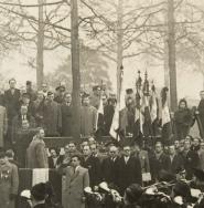 Hommage aux engagés volontaires anciens combattants juifs