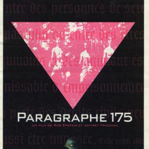 """Projection """"Paragraphe 175"""" de Rob Epstein et Jeffrey Friedman"""
