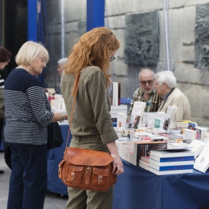 Reporté - Salon du livre du Mémorial