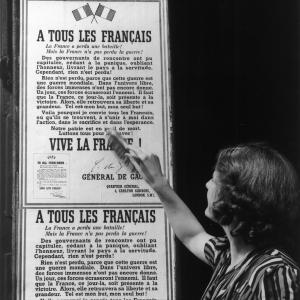 1940, la voie de l'engagement